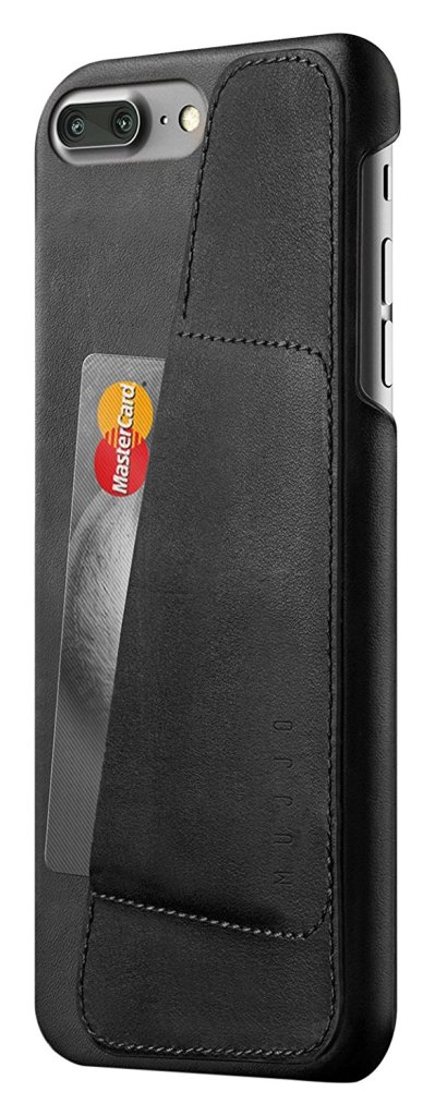 Mujjo Leather Wallet iPhone7 case