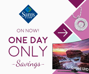 sam's club one day sale