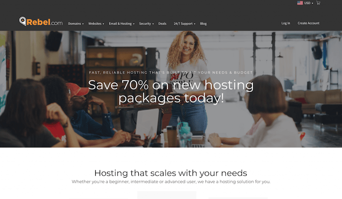 rebel-hosting