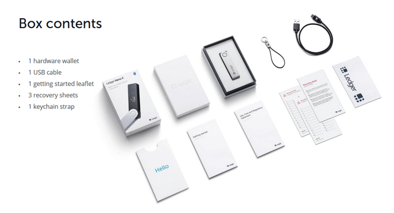 ledger-nano-x-box-contents