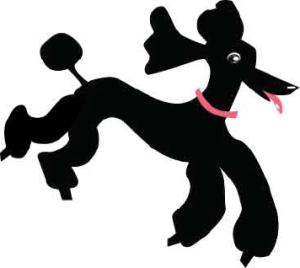 Simone the Poodle Logo