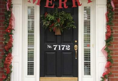 Decorate Your Office Door For Christmas Ideas