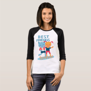 Best friends forever T-Shirt Zazzle.com (4)