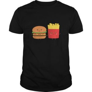 Cute Burger And French Fries Who Are Bffs Womens T Shirts Womens T Shirt Best Friend Shirt