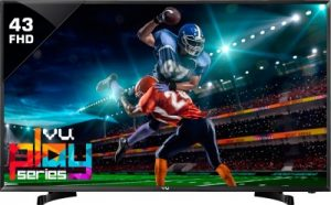 best 43 inch tv in india - 43D6575