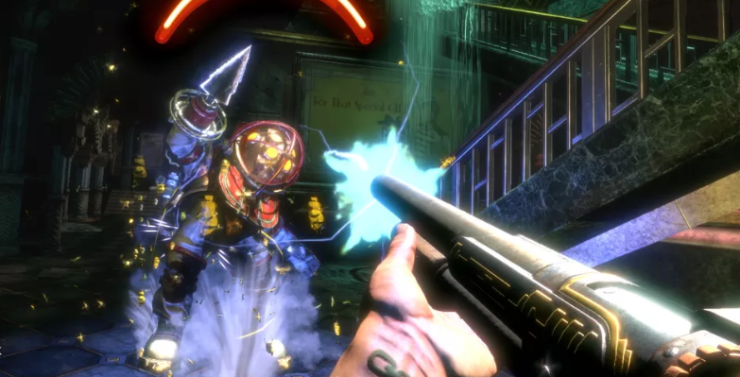 Bioshock fps game