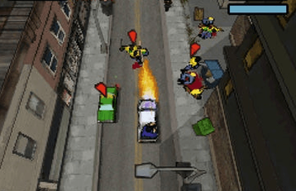 GTA Chinatown Wars ds game