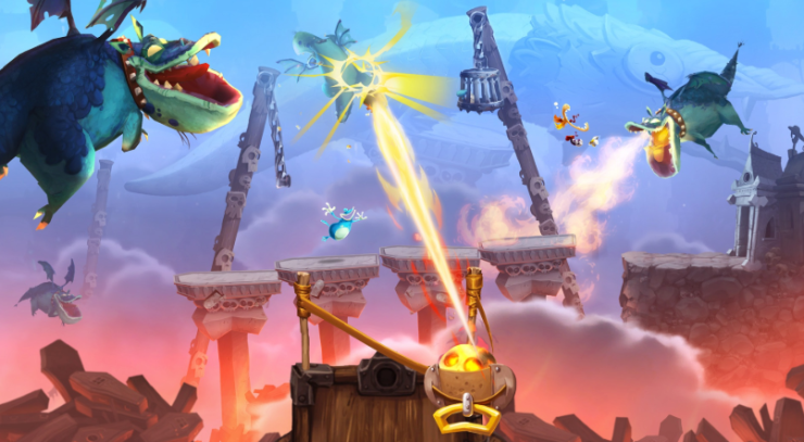 RAYMAN LEGENDS game for wii u