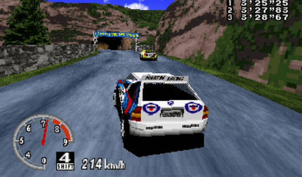 Sega Rally Championship game screenshots