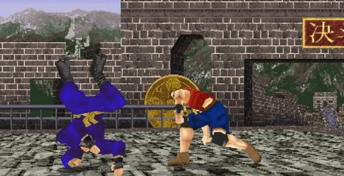 Virtua Fighter 2 game screenshots