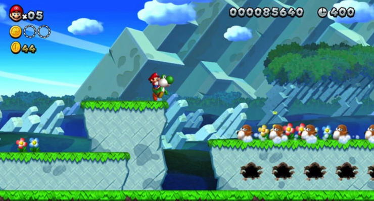 super mario bros for wii