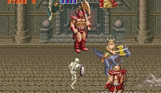 GOLDEN AXE game