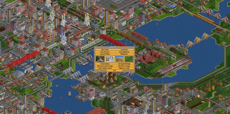 open transport tycoon game