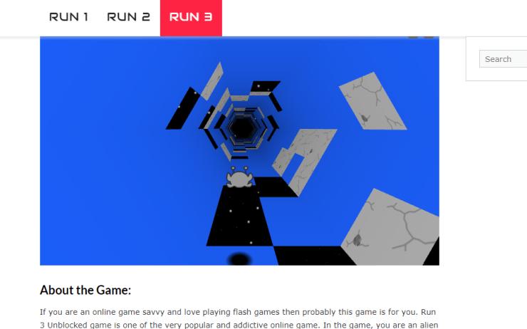 run 3 unblocked
