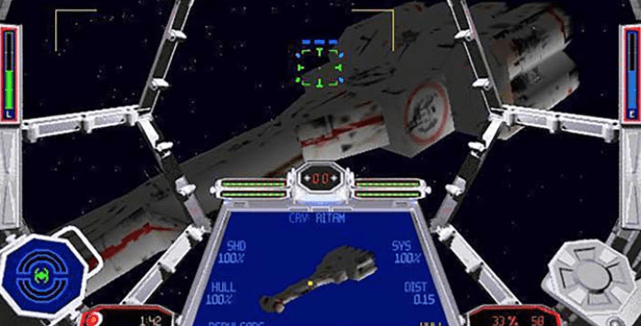 tie fighter game