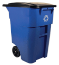 Best Outdoor Garbage Can with Locking Lid and Wheels