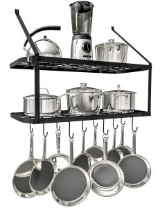 over the counter kitchen tool rack