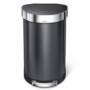 simplehuman 12 gallon trash can for garage
