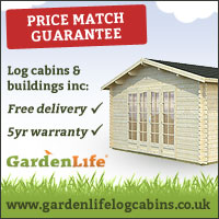 GardenLife Log Cabins