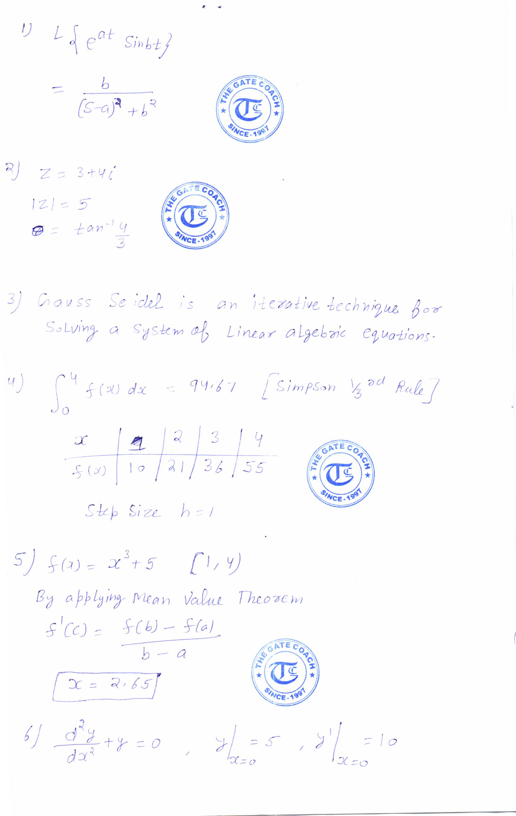 CHEMICAL ENGG GATE 2016 SOLUTION