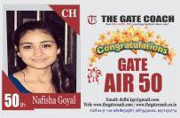GATE 2016 Topper AIR 50