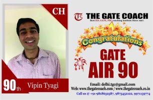 GATE 2016 Topper AIR 90