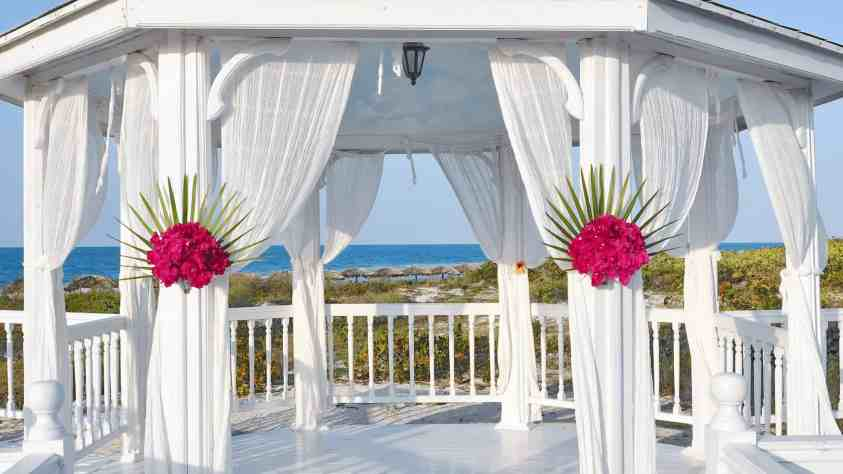 Gazebo curtains