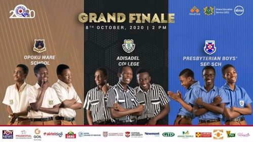 GRAND FINALE: 2020 EDITION OF THE NATIONAL SCIENCE AND MATHS QUIZ
