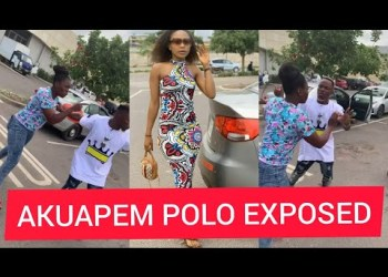 (Video) Lady Attacks Akuapem Poloo For Snatching Her Husband
