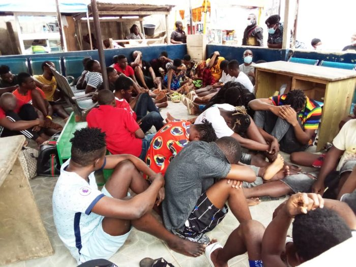 340 Suspected Criminals Arrested In Kasoa