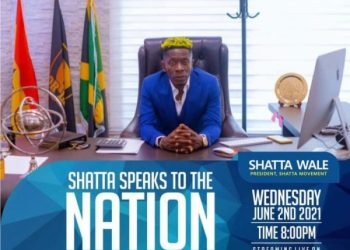 Shatta Wale To Address Ghanaians On Tuesday. [State Of The Industry Address]