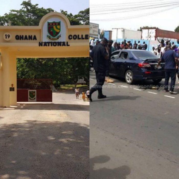 Police Officer's Vehicle 'Kills' Ghana National Teacher At Cape Coast