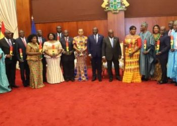 Prez Akufo-Addo Presents Credentials To 21 Ambassadors And High Commissioners