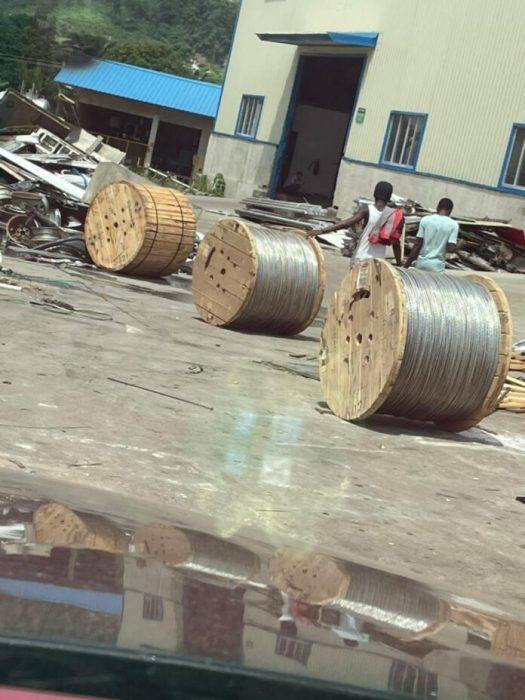 Chinese Nationals Arrested For Allegedly Stealing 30 Bundles Of Electricity Cables