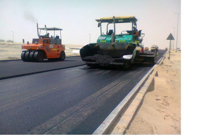 Asphalt For 30 Inner Roads in Cape Coast In Progress