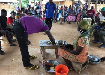 [Photos] Hon. Oscar Ofori Larbi Organizes Skills Training Workshop For Youth In His Constituency