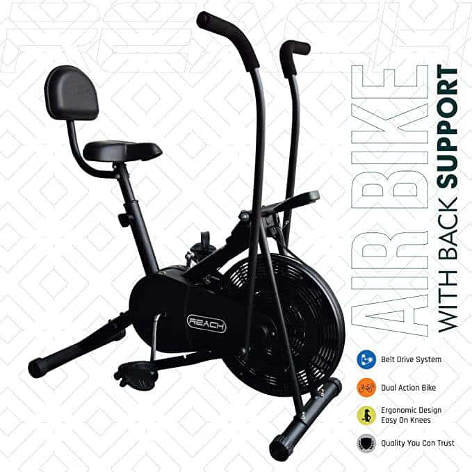 Top 3 Best Air Bike Exercise Cycle in Amazon India 2020