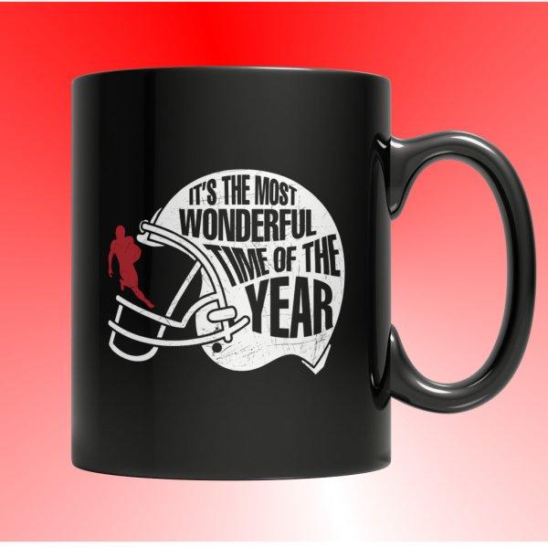 Football Mug - Football Mugs - Football Coffee Mug - Football Time Mug - Football Time Coffee Mug - Unique Mugs - Best Gifts Gallery
