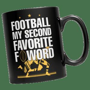 Football Mug - Football Mugs - Football Coffee Mug - Football F Word Mug - Football F Word Coffee Mug - Unique Mugs - Best Gifts Gallery