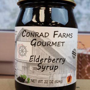 Elderberry Syrup product image conrad farms