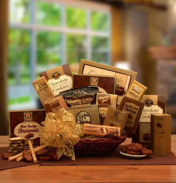Corporate basket gift image on home page link