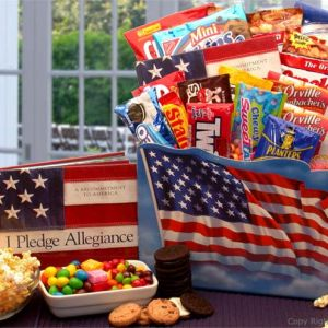 America The Beautiful Snack Gift Box product image