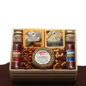 Premium Selections Meat & Cheese Gift Crate product image