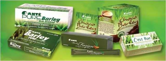 green barley products in philippines