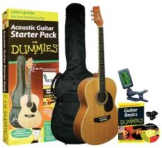 Guitar For Dummies Acoustic Guitar Starter Pack