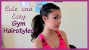 easy hair style gymnastics