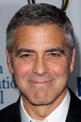 George Clooney Caesar Cut : george, clooney, caesar, Caesar, Haircut, Photos,, Styling, More!