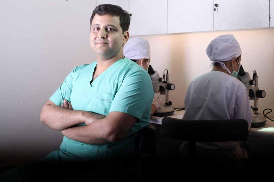 Dr.Arihant Surana - Best Hair Transplant surgeon in india - Monaris Hair Clinic, About, Dr.Arihant Surana