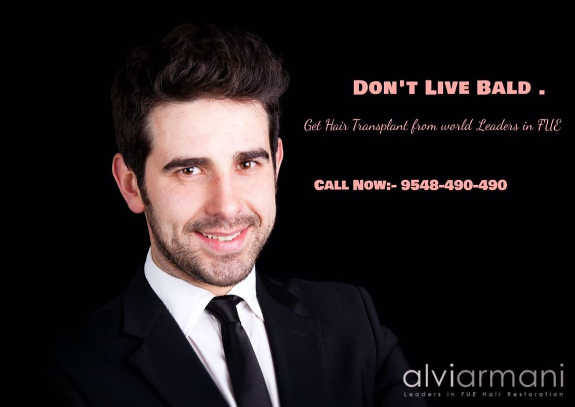 Monaris alviarmani hair transplant, Our New ad says it all….., Dr.Arihant Surana