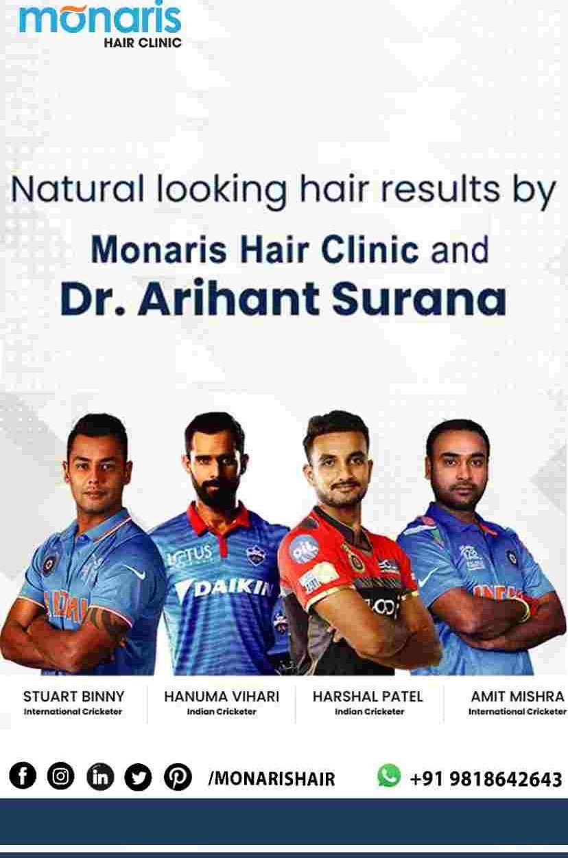 Monaris Hair Clinic Now in Indore